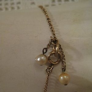 12K GOLD Filled GENUINE PEARL Bracelet 1950's
